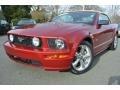 2006 Redfire Metallic Ford Mustang GT Premium Convertible  photo #1