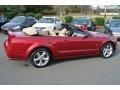 2006 Redfire Metallic Ford Mustang GT Premium Convertible  photo #25