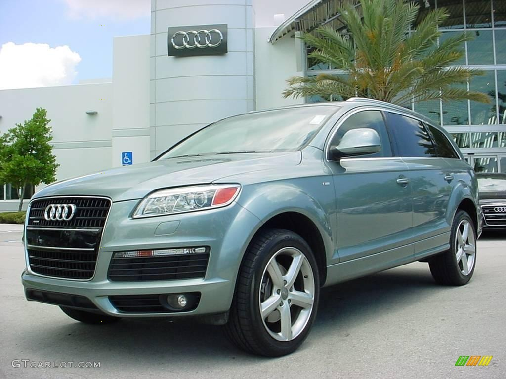 2007 sycamore green metallic audi q7 3 6 premium quattro 8916118 car color. Black Bedroom Furniture Sets. Home Design Ideas