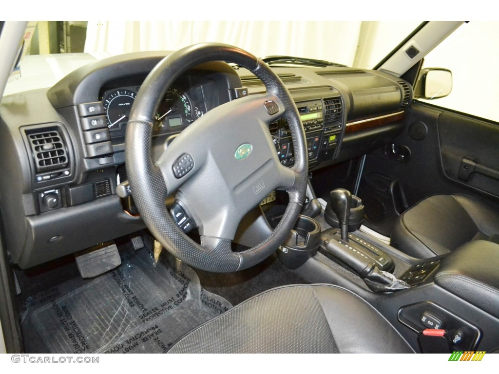 Black Interior 2004 Land Rover Discovery Se Photo 89350459