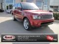 Rimini Red 2010 Land Rover Range Rover Sport Supercharged