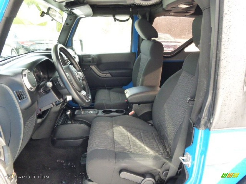 2012 Wrangler Sport 4x4 - Cosmos Blue / Black photo #11