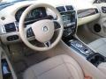 2014 Jaguar XK Caramel/Caramel Interior Prime Interior Photo