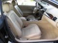 2014 Jaguar XK Caramel/Caramel Interior Front Seat Photo