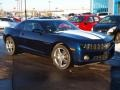 Imperial Blue Metallic 2011 Chevrolet Camaro Gallery