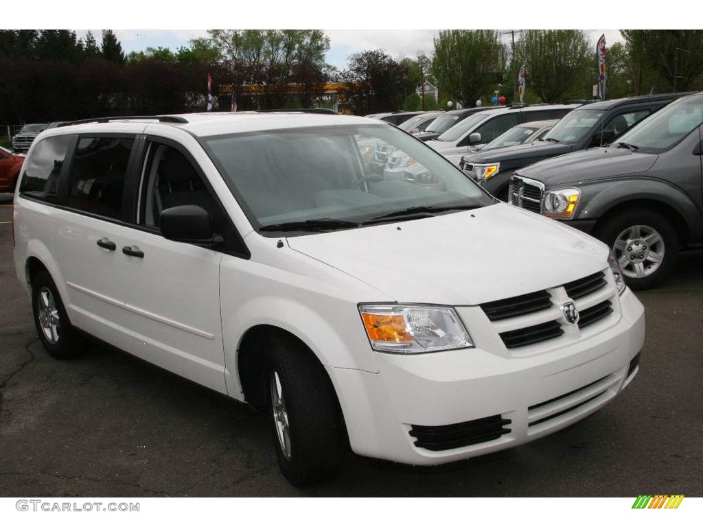 2008 Stone White Dodge Grand Caravan Se 8913686 Photo 5 Gtcarlot