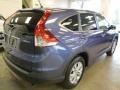 2014 Twilight Blue Metallic Honda CR-V EX AWD  photo #4