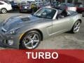 Techno Gray 2008 Saturn Sky Red Line Roadster