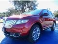 RR - Ruby Red Metallic Lincoln MKX (2014)