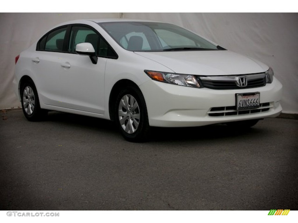 2012 taffeta white honda civic lx sedan 89458991. Black Bedroom Furniture Sets. Home Design Ideas
