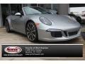 2014 GT Silver Metallic Porsche 911 Carrera 4S Cabriolet #89483913