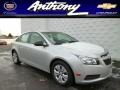 Silver Ice Metallic 2014 Chevrolet Cruze LS