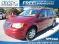 Deep Cherry Red Crystal Pearl 2010 Chrysler Town & Country LX