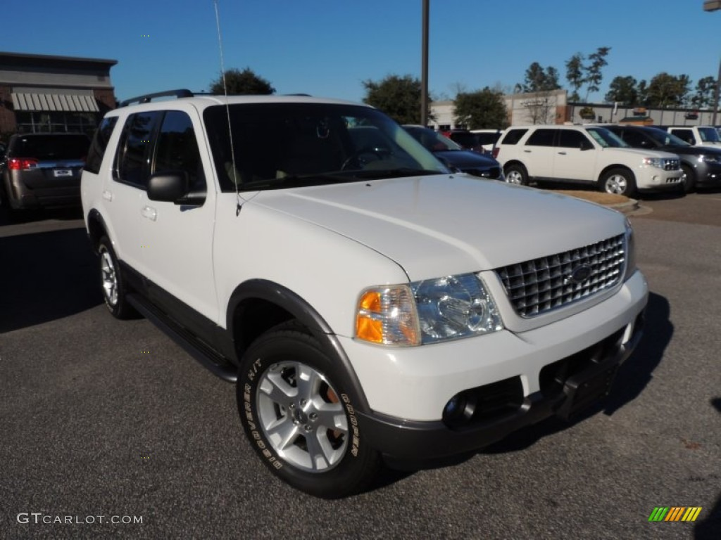 Oxford White 2003 Ford Explorer XLT Exterior Photo #89509462
