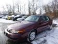 2002 Dark Red Saturn L Series L100 Sedan #89518455