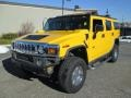 Yellow 2003 Hummer H2 Gallery