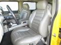 Wheat Front Seat Photo for 2003 Hummer H2 #89524636