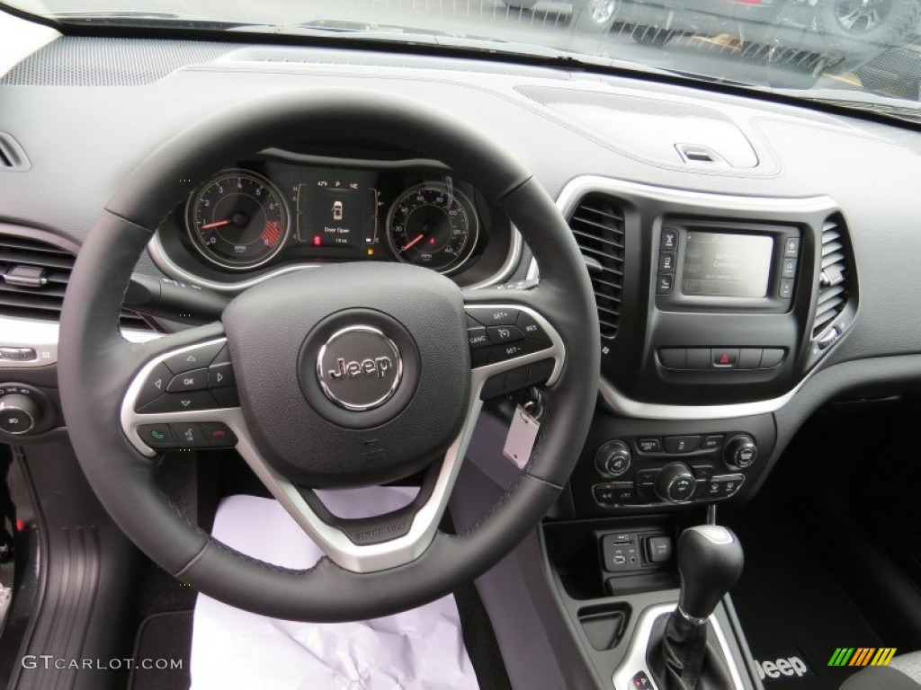 2014 Jeep Cherokee Latitude Dashboard Photos | GTCarLot.com