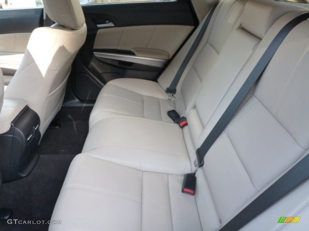 2013 White Diamond Pearl Honda Crosstour Ex L V 6 4wd 89518327 Photo 5 Car