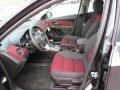 Jet Black/Sport Red 2014 Chevrolet Cruze Interiors
