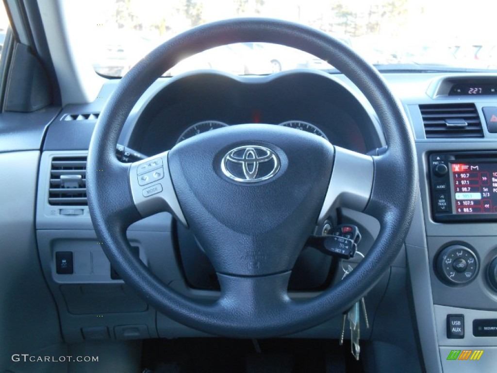 2013 toyota corolla le steering wheel photos. Black Bedroom Furniture Sets. Home Design Ideas