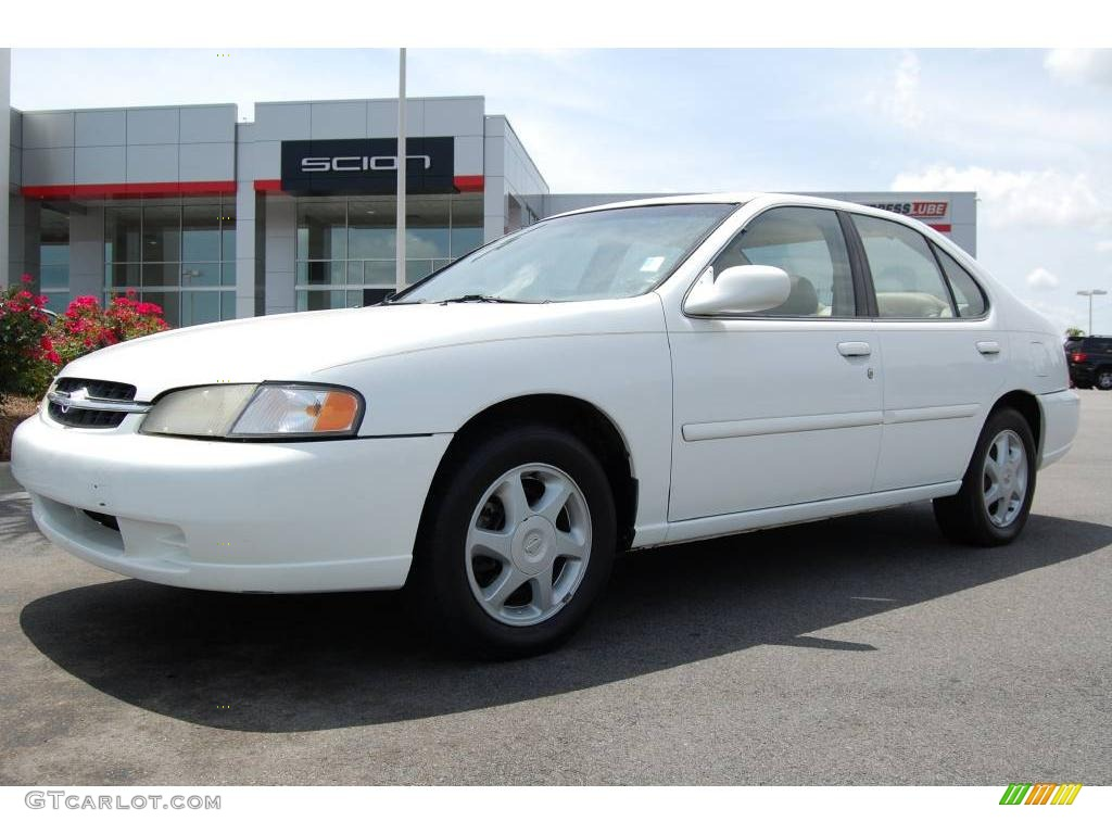 1998 cloud white nissan altima se #8931095 | gtcarlot - car