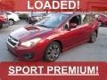 Camellia Red Pearl 2013 Subaru Impreza 2.0i Sport Premium 5 Door
