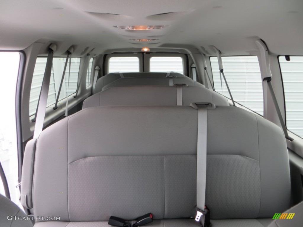 2014 Ford E Series Van E350 Xlt Extended 15 Passenger Van Rear Seat Photos