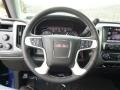 Jet Black Steering Wheel Photo for 2014 GMC Sierra 1500 #89572439