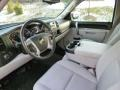 2010 Chevrolet Silverado 1500 Light Titanium/Ebony Interior Prime Interior Photo