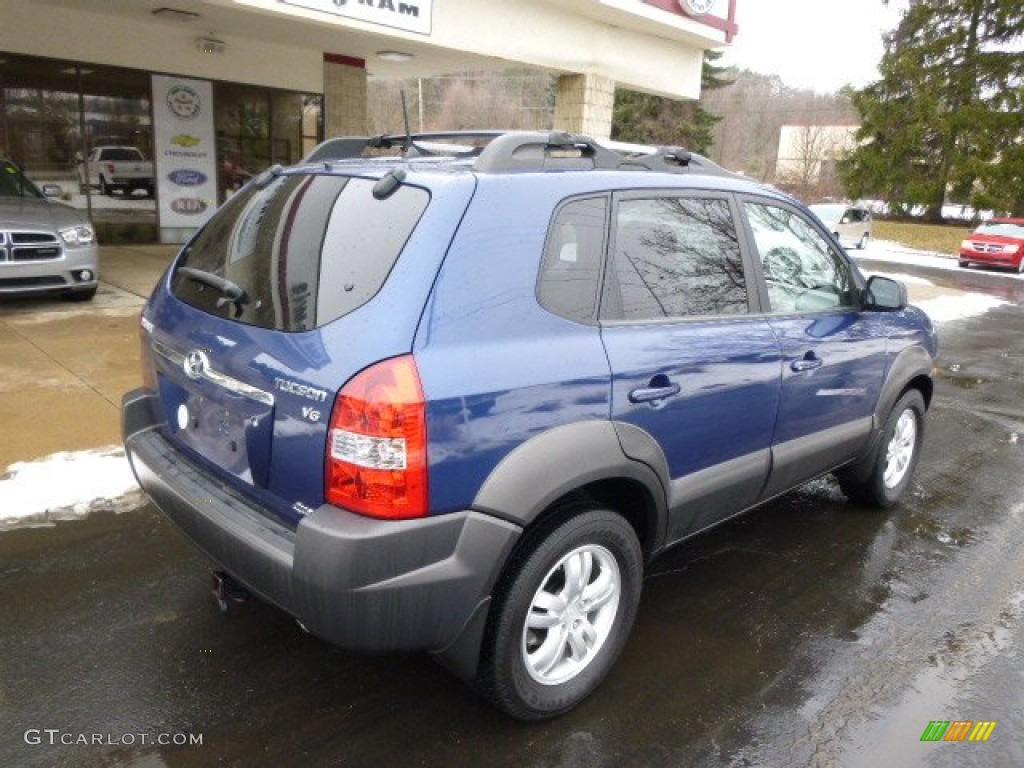 nautical blue metallic 2006 hyundai tucson gls v6 4x4 exterior photo 89586875. Black Bedroom Furniture Sets. Home Design Ideas
