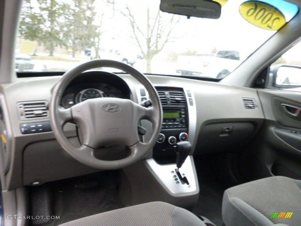 2006 Hyundai Tucson Gls V6 4x4 Interior Color Photos