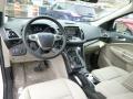 2014 White Platinum Ford Escape Titanium 1.6L EcoBoost 4WD  photo #10