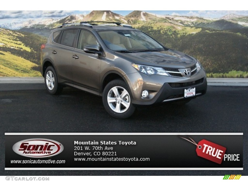 2014 pyrite mica toyota rav4 xle awd 89566533 gtcarlot. Black Bedroom Furniture Sets. Home Design Ideas