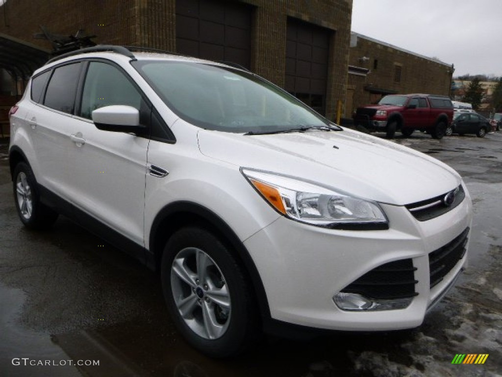 2014 Escape SE 2.0L EcoBoost 4WD - White Platinum / Medium Light Stone photo #1
