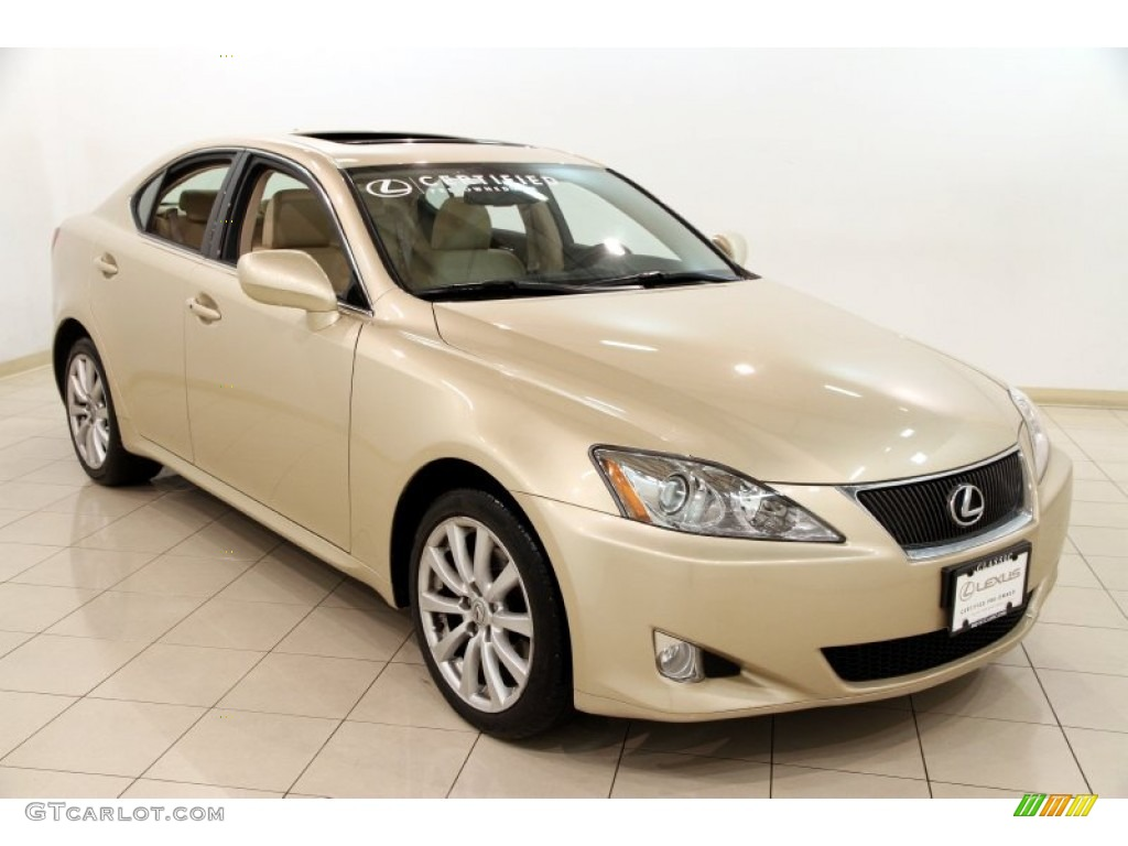 2008 golden almond metallic lexus is 250 awd 89567005. Black Bedroom Furniture Sets. Home Design Ideas