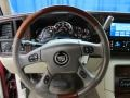 2005 Cadillac Escalade Shale Interior Steering Wheel Photo