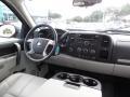2010 Chevrolet Silverado 1500 Light Titanium/Ebony Interior Dashboard Photo
