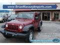 2012 Deep Cherry Red Crystal Pearl Jeep Wrangler Sport 4x4 #89607642