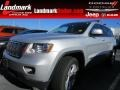 Bright Silver Metallic 2011 Jeep Grand Cherokee Laredo X 70th Anniversary