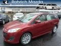 Zeal Red 2014 Mazda MAZDA5 Touring