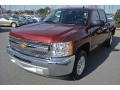 2013 Deep Ruby Metallic Chevrolet Silverado 1500 LT Crew Cab  photo #1