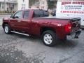 2013 Deep Ruby Metallic Chevrolet Silverado 1500 LTZ Extended Cab 4x4  photo #5