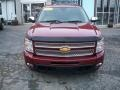2013 Deep Ruby Metallic Chevrolet Silverado 1500 LTZ Extended Cab 4x4  photo #8