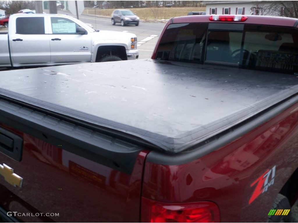 2013 Silverado 1500 LTZ Extended Cab 4x4 - Deep Ruby Metallic / Light Cashmere/Dark Cashmere photo #15