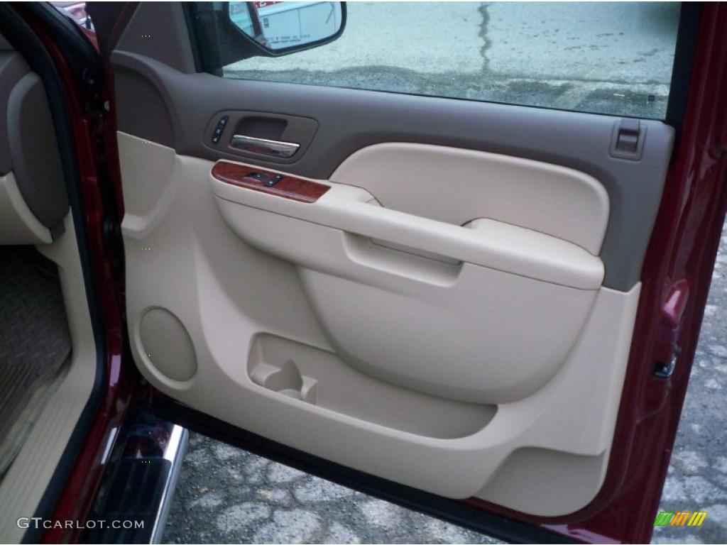 2013 Silverado 1500 LTZ Extended Cab 4x4 - Deep Ruby Metallic / Light Cashmere/Dark Cashmere photo #20