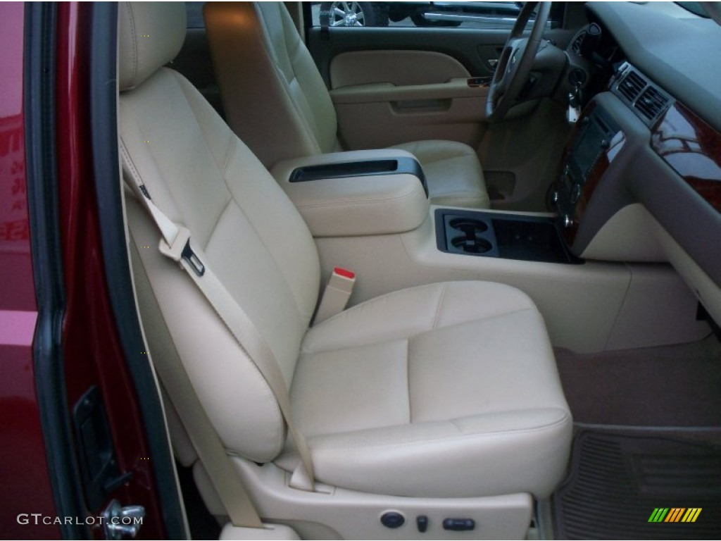 2013 Silverado 1500 LTZ Extended Cab 4x4 - Deep Ruby Metallic / Light Cashmere/Dark Cashmere photo #21
