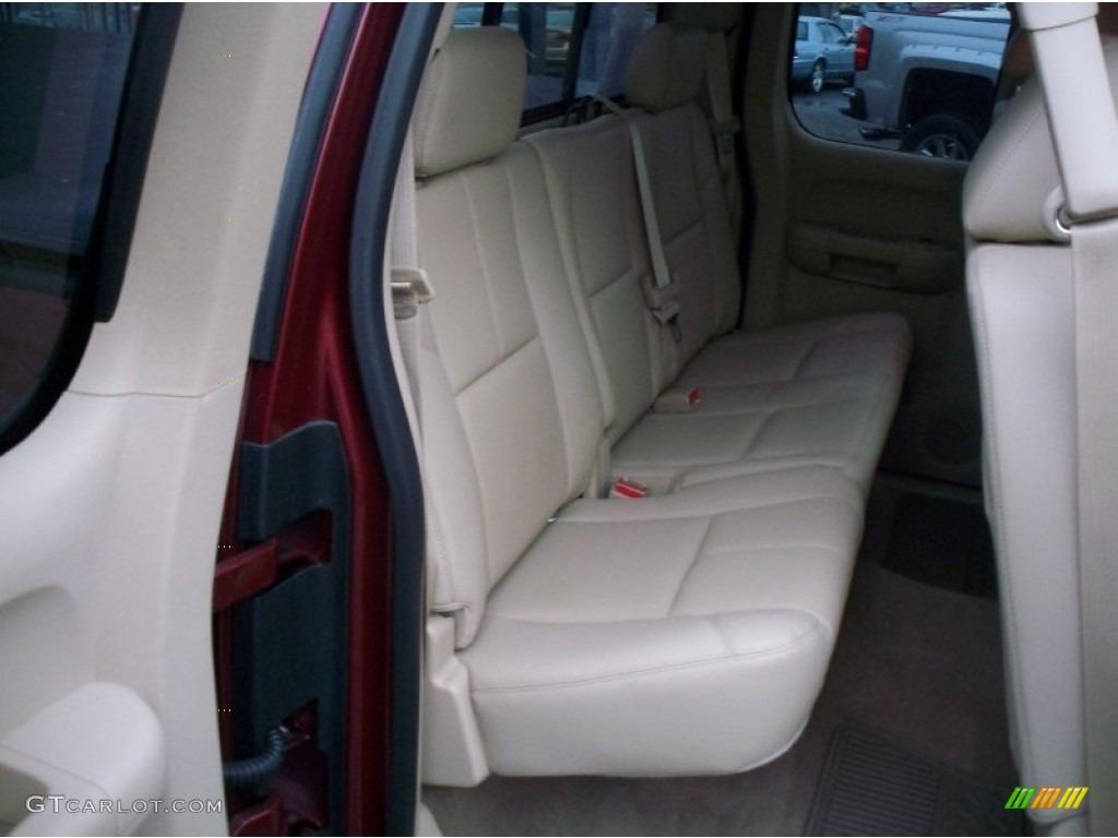 2013 Silverado 1500 LTZ Extended Cab 4x4 - Deep Ruby Metallic / Light Cashmere/Dark Cashmere photo #24