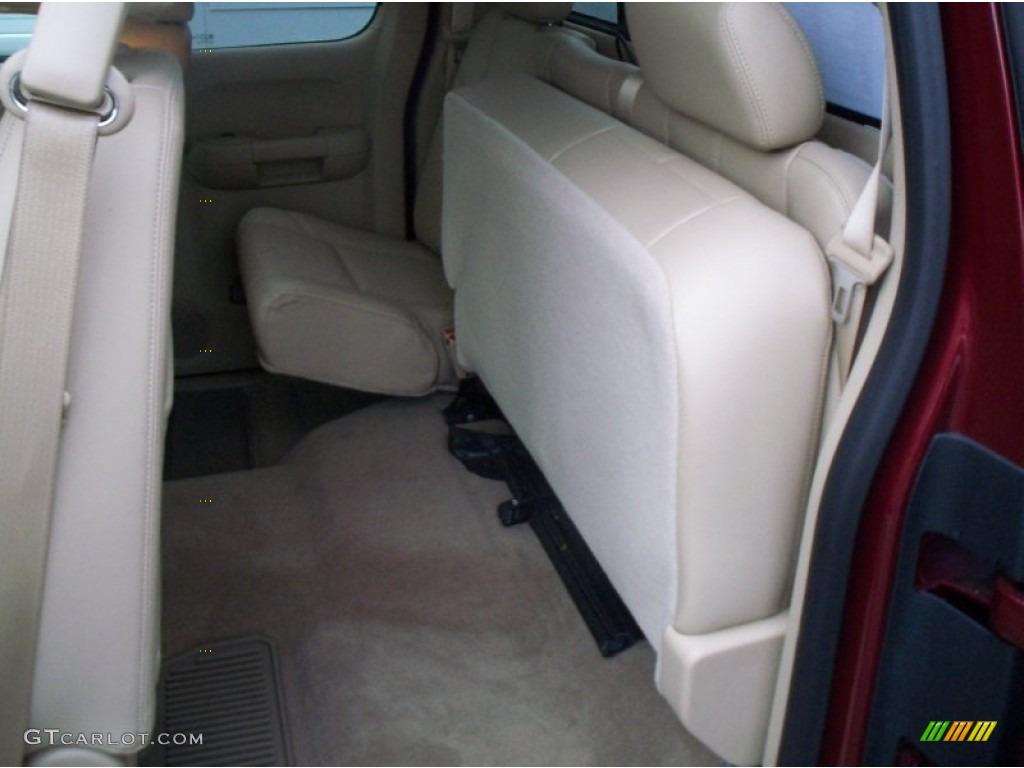 2013 Silverado 1500 LTZ Extended Cab 4x4 - Deep Ruby Metallic / Light Cashmere/Dark Cashmere photo #27