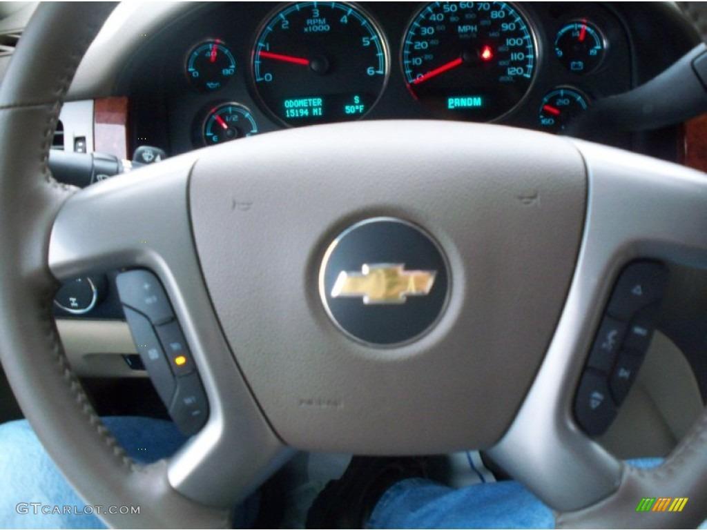 2013 Silverado 1500 LTZ Extended Cab 4x4 - Deep Ruby Metallic / Light Cashmere/Dark Cashmere photo #37